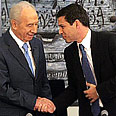 Peres and Agassi