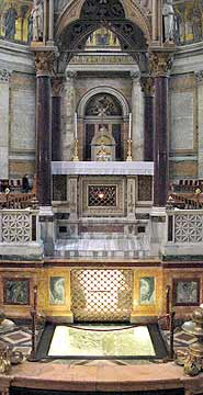 (Patrick Hertzog) The tomb of St Paul in Rome