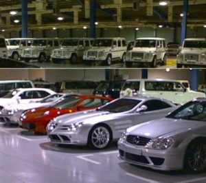 Sultan's garage