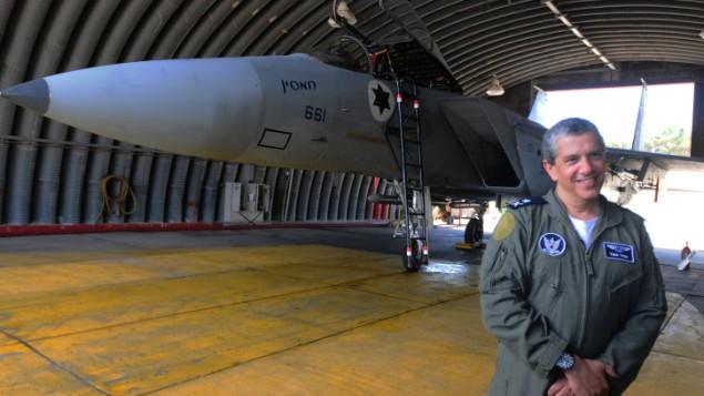 IAF Commander Maj. Gen. Amir Eshel (photo credit: Yossi Zeliger/Flash90)