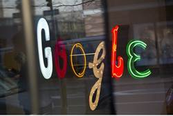 Google signage in New York / Reuters