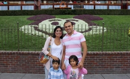 Iranian-American Pastor Saeed Abedini with his wife, Naghmeh, and his two children. While visiting his parents in Iran in July 2012, Abedini was arrested by the Iranian Revolutionary Guard for his previous Christian work in the country. (photo courtesy American Center of Law and Justice)