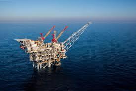 Tamar gas field drilling