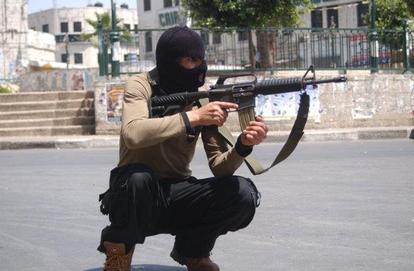 Palestinian gunman