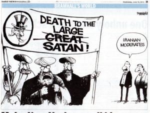 toon Iranian moderates