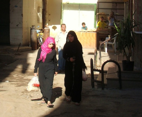 Teenage girls in low-income areas of Egypt are vulnerable to trafficking. Credit: Cam McGrath/IPS.