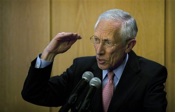Stanley Fischer gestures as he speaks during a press conference in 2013. President Barack Obama intends to nominate Fischer to be vice chairman of the Federal Reserve. - Sebastian Scheiner/ASSOCIATED PRESS