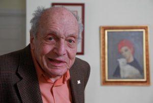 Monuments Man Harry Ettlinger, now 88 yrs. old