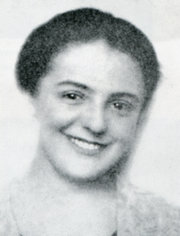 Alice Herz in 1924, then a noted musician in Prague.