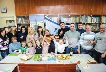 Immigration to Israel from Ukraine has risen 70% in 2014 | Photo credit: Boris Buchman