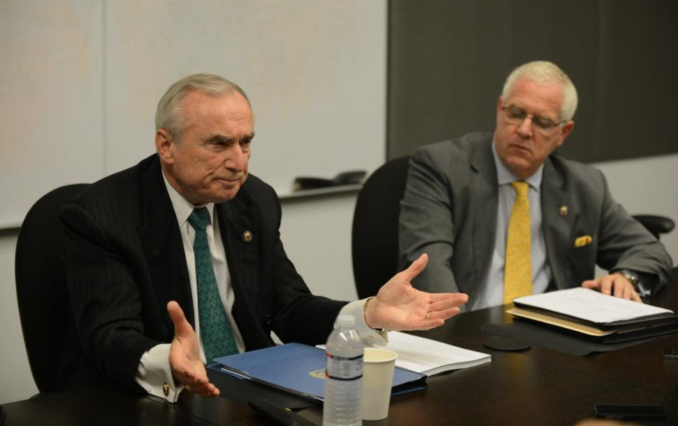 Bill Bratton and John Miller are playing it straight with Muslims. / JULIA XANTHOS/NEW YORK DAILY NEWS