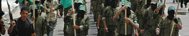 Hamas marching
