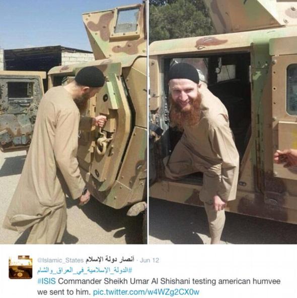 ISIS leader Omar al-Shishani