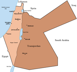 map Palestine original division
