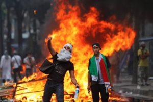 Vicious protest in France. | Thibault Camus / AP