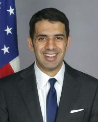 Shaarik Zafar, the State Department's special representative to Muslim Communiites. (State Dept.)