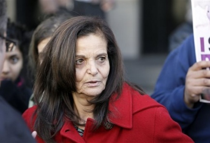 Rasmieh Yousef Odeh Photo credit: AP