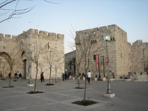 Jaffa Gate plaza, Jerusalem (Photo Credit: Stephen Colebourne)