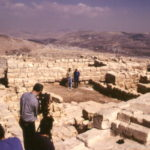 Mount Gerizim with TV Crew