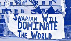 """Shariah will dominate the world"""