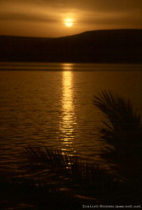 The Sea of Galilee at Sunrise