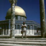 Zola at the Dome of the Rock