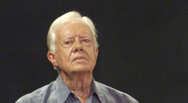 Former President Jimmy Carter (REUTERS/Rafael Perez/File Photo)