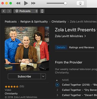Podcasts – Zola Levitt Ministries
